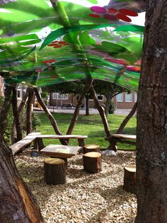 Outdoor classroom canopy Bothal