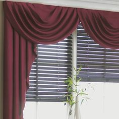 jcp home™ Supreme Antique Satin Cascade and Swag Valances - jcpenney