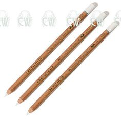 3 x cretacolor artists white #chalk #pastel pencils medium. #drawing & sketching,  View more on the LINK: http://www.zeppy.io/product/gb/2/351486917209/
