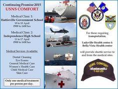 USNS Comfort Visits Belize