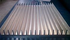 Aluminium profile radiator series