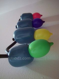 Defective Balloons or Failing Christmas Lights