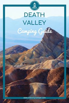 Your complete guide to camping and hiking in Death Valley National Park, California. What to expect at Furnace Creek Campground, nearby hiking, salt flat sightings, desert sand dunes and other highlights for your next road trip to Death Valley. Utah Camping, Florida Camping, Best Tents For Camping, Camping Guide, Camping World, Camping And Hiking, Camping Cabins, Luxury Camping, Camping Gear