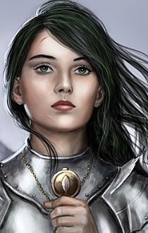 Human Female Fantasy Portrait Cleric Warrior Paladin