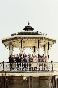 An Audrey Hepburn Inspired Bride for a Brighton Bandstand Wedding… Brighton Beach Uk, Brighton England, Brighton And Hove, Wedding Mood Board, Wedding Pictures, Wedding Blog, Dress Wedding, Wedding Ceremony, Wedding Venues