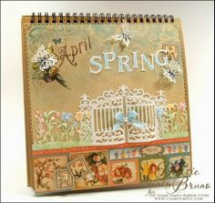 Crafting with Darsie: April Holiday Calendar...