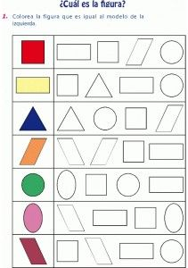 Colorear figura igual al modelo … Printable Preschool Worksheets, Kindergarten Math Worksheets, Preschool Learning Activities, Free Preschool, Kids Learning, Preschool Writing, Free Printable, Numbers Preschool, Math For Kids