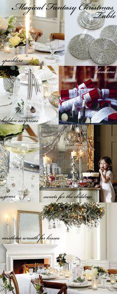 I love the table setting Italian Christmas, Elegant Christmas, Christmas 2014, Little Christmas, Beautiful Christmas, All Things Christmas, Merry Christmas, Xmas, Christmas Party Themes