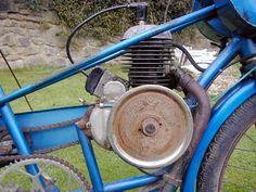48cc Zurcher Engine On A 1949 Derny | Flickr - Photo Sharing!
