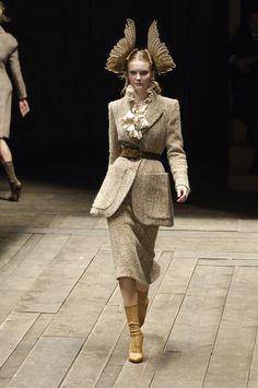 Alexander McQueen Fall 2006, Paris
