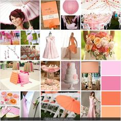 Light Pink and Orange Wedding - Wedding Planning - Zimbio