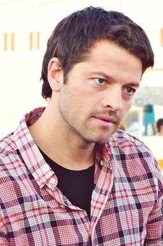 his eyes <3  ::Misha Collins  ::
