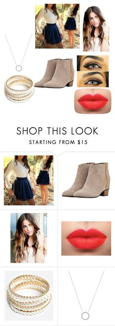 """""""My outfit for my first date today"""" by friends-forever-and-always ❤ liked on Polyvore featuring Augusta, ZooShoo and Michael Kors"""