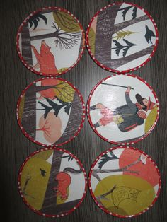 recycled coasters #FlowMagazinepaper