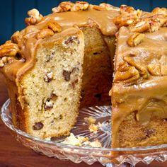 Praline Pound Cake. A Savannah Specialty.