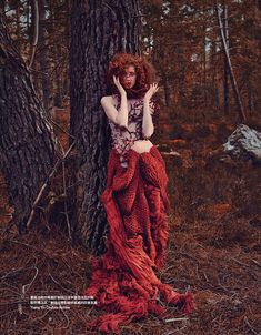 """Red Forest"" Vogue Taiwan November 2014"