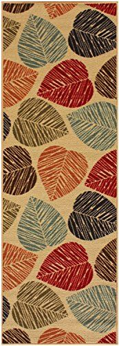 Custom Size Leaves Leaf Beige Multi Color Roll Runner 22 in or 26 in Wide x Your Length Choice Slip Resistant Rubber Back Area Rugs and Runners (Beige Multi Leaves, 7 ft x 26 in) RugStylesOnline http://www.amazon.com/dp/B01722Y0G8/ref=cm_sw_r_pi_dp_qCJPwb0VTCK1H