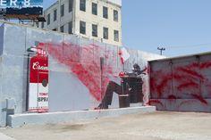 Mr. Brainwash, art, street art, street artists, painting, graffiti, stencils