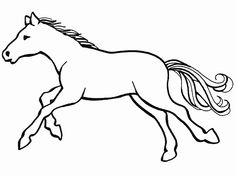 pferde ausmalbilder springen | ausmalbilder | ausmalbilder