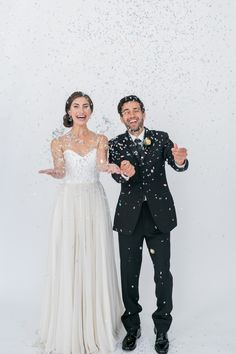 Cue the Confetti! @aislesociety is live! Alexis June Weddings, Estera Events, Fleur #cuetheconfetti #aislesociety