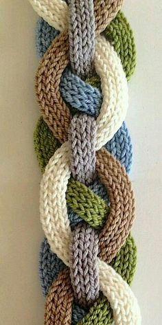 Image result for braided scarf crochet rapunzel