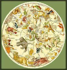 Celestial Map http://stores.ebay.com/SANDTIQUE-Rare-Prints
