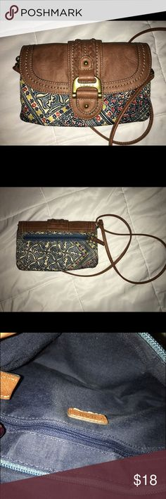 Fun Boho Bag Fun Boho Bag ideal for going out with friends. Perfect size for your keys, phone, cash, and favorite lip gloss. Strap is removable for a playful handbag to compliment your cutest little black dress. Chaps Bags Crossbody Bags