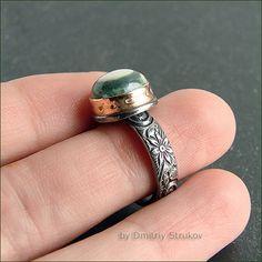 Перстень с яшмой