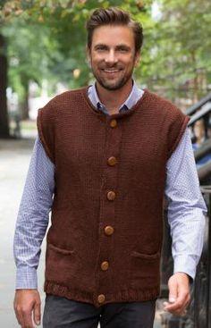Oktoberfest Vest Free Knitting Pattern from Rd Heart Yarns