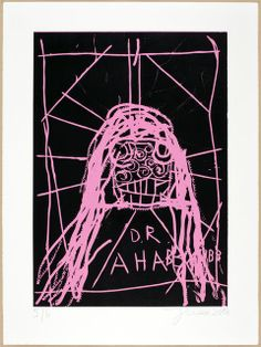 JONATHAN MEESE DOKTOR ALLPORN'S neue HITSINGLE: IT'S my SCHEISS. (Das musste 'mal raus.), 2012 Linocut, Papier Lana Royal, 300 gr. 41 7/10 × 30 7/10 in 106 × 78 cm Edition of 12