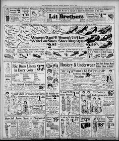Philadelphia Inquirer, Good Ole, Department Store, Brother, June, Sunday, Memories, Marketing, Baby