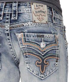 Rock Revival Clark Straight Jean - Men's Jeans | Buckle