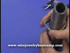 (1) How to make a Roman Cuff Wire Jewelry Bracelet Part 2 - YouTube