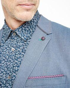 064de1bb81b7a5 Mini design jacket - Blue