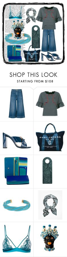 """Marc Jacobs"" by denisee-denisee ❤ liked on Polyvore featuring Frame, VIVETTA, Fendi, Marc Jacobs, mywalit, LINUM, Aurélie Bidermann, Brooks Brothers, Fleur of England and Sicily & More"