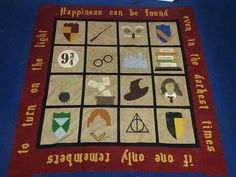 food & fabric: my vegan life: Harry Potter and the Order of the Quilters