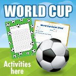 With the premiership season over they'll need something to fill the gap! First up - World Cup Activities from iChild.