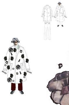 Fashion Sketchbook - fashion design portfolio // Bryan Conway