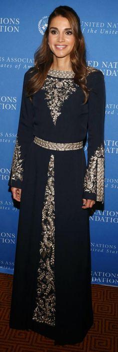 Queen Rania in New York