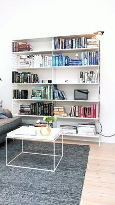Via NordicDays.nl | White Alvhem Home | String System | HAY