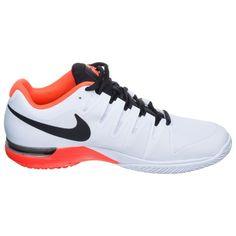 hot sale online 3c07c eecec Nike Roger Federer Zoom Vapor 9.5 Tour Allcourtschuh Herren - Weiß, Rot