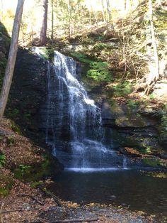 #BridalVeil waterfall in Bushkill