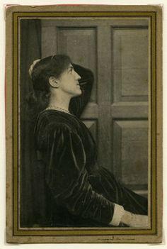 Jane Morris pre raphaelite Muse: May Morris (c.1887)
