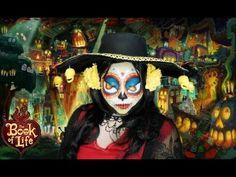 FormidableArtistry: ❤Book of Life❤ La Muerte makeup tutorial