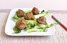 Chinese Five Spice Quinoa Meatballs