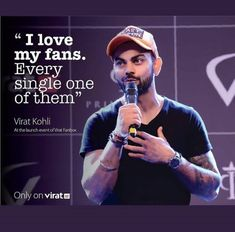 Your this diehard fan loves you too❤ # I'm also one of ur fans True Quotes, Motivational Quotes, Inspirational Quotes, Virat Kohli Quotes, Dhoni Quotes, Virat Kohli And Anushka, Virat Kohli Wallpapers, Avengers Imagines, Cricket Sport