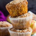 Apple Streusel Muffins | marshasbakingaddiction.com @marshasbakeblog