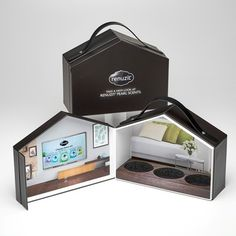 Custom Product Launch Kits, Press Kits by Sneller.  Custom Promotional Packaging.  Custom Marketing Materials.  www.snellercreative.com