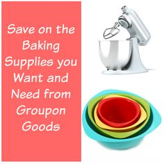 Check out Groupon Goods for great deals on kitchen supplies whether you are just starting out your household or not. There are lots of other deals too. #Groupon #AD
