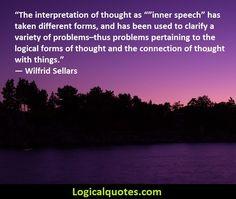 Inspirational Wilfrid Sellars Quotes